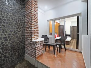 Room with fireplace at Cottages@Village resort, Naukuchiatal, Nainital