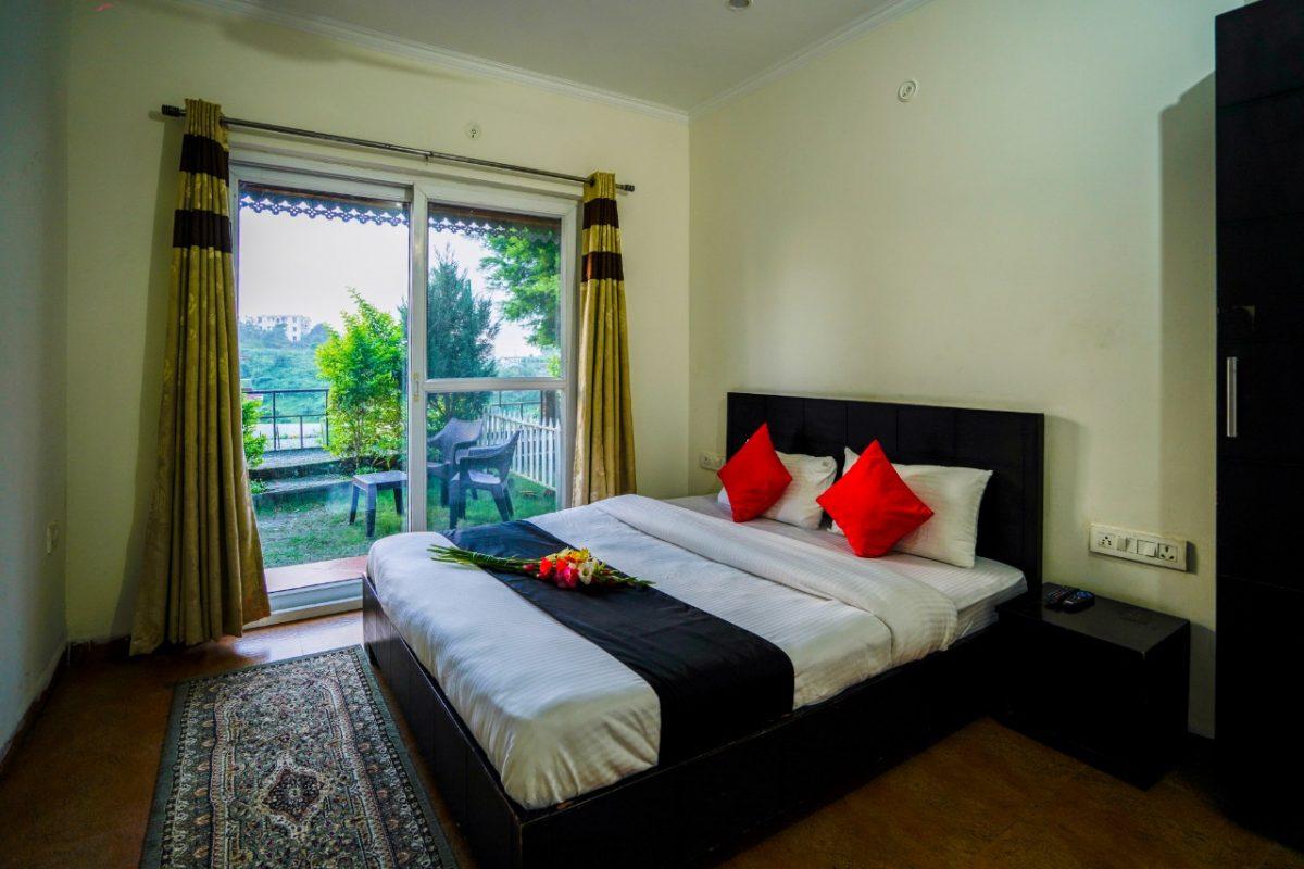 Cottages@Village Resort - Junior Suite with Lawn, Room in Naukuchiatal