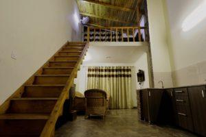 beautiful wooden cottage at Cottages@Village resort in Naukuchiatal, Nainital