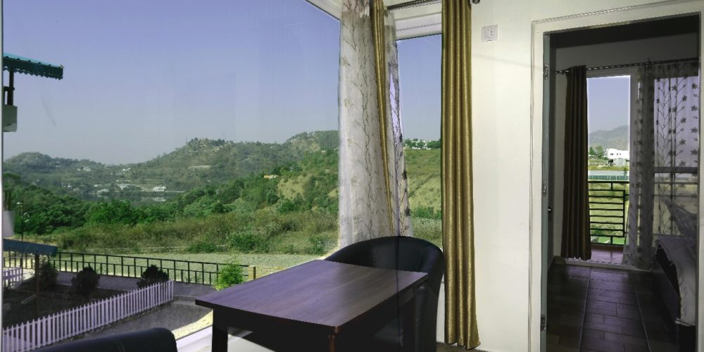 Best Scenery View rooms at Cottages@Village resort in Naukuchiatal