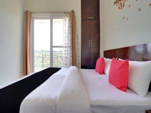 Junior Suite with hill view at Cottages@Village Naukuchiatal