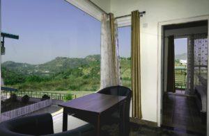 Beautiful lake facing room at Cottages@Village resort Naukuchiatal, Nainital