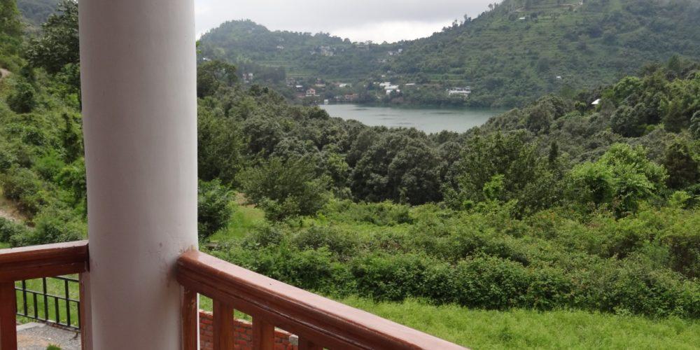lake view family resort Cottages@Village Resort Naukuchiatal, Nainital