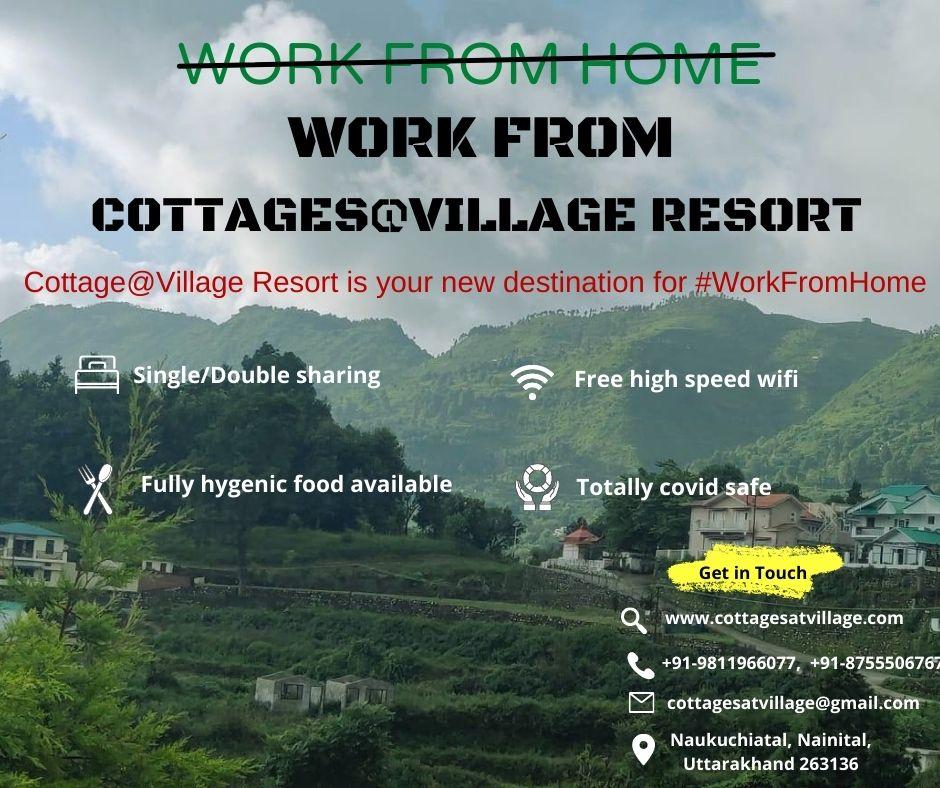 Cottage@Village Resort is your new destination for #Workation