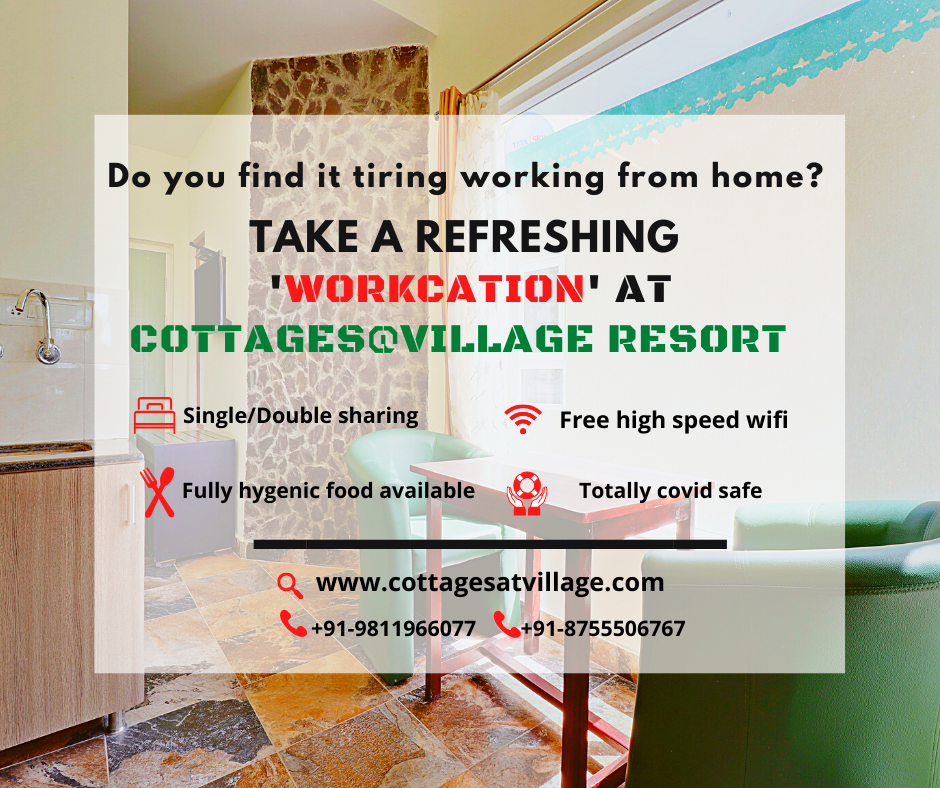 Do you find it tiring working from home? Take a refreshing 'WorKCation'!