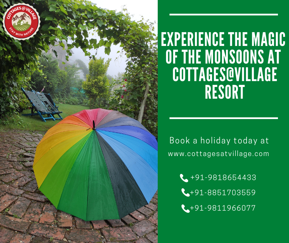 Experience The Magic Of The Monsoon At Cottages@Village Resort