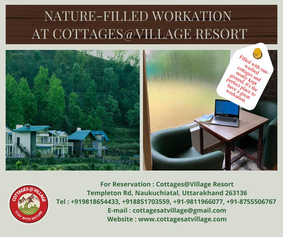 Nature-Filled Workation At Cottages@Village Resort